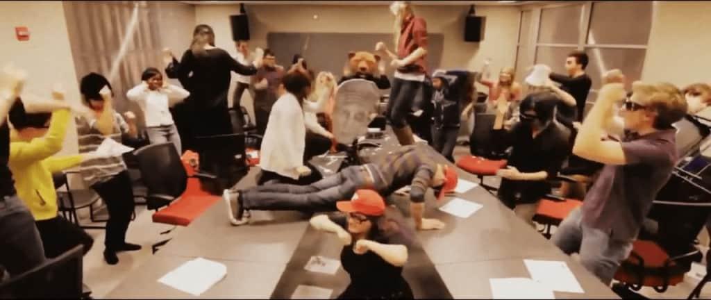 Кадр из видео Harlem Shake