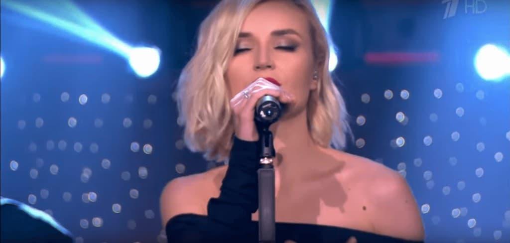 Баста и Полина Гагарина исполняют песню «Голос»