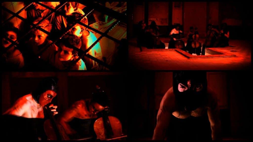Кадры из клипа Rammstein — Mein Herz Brennt