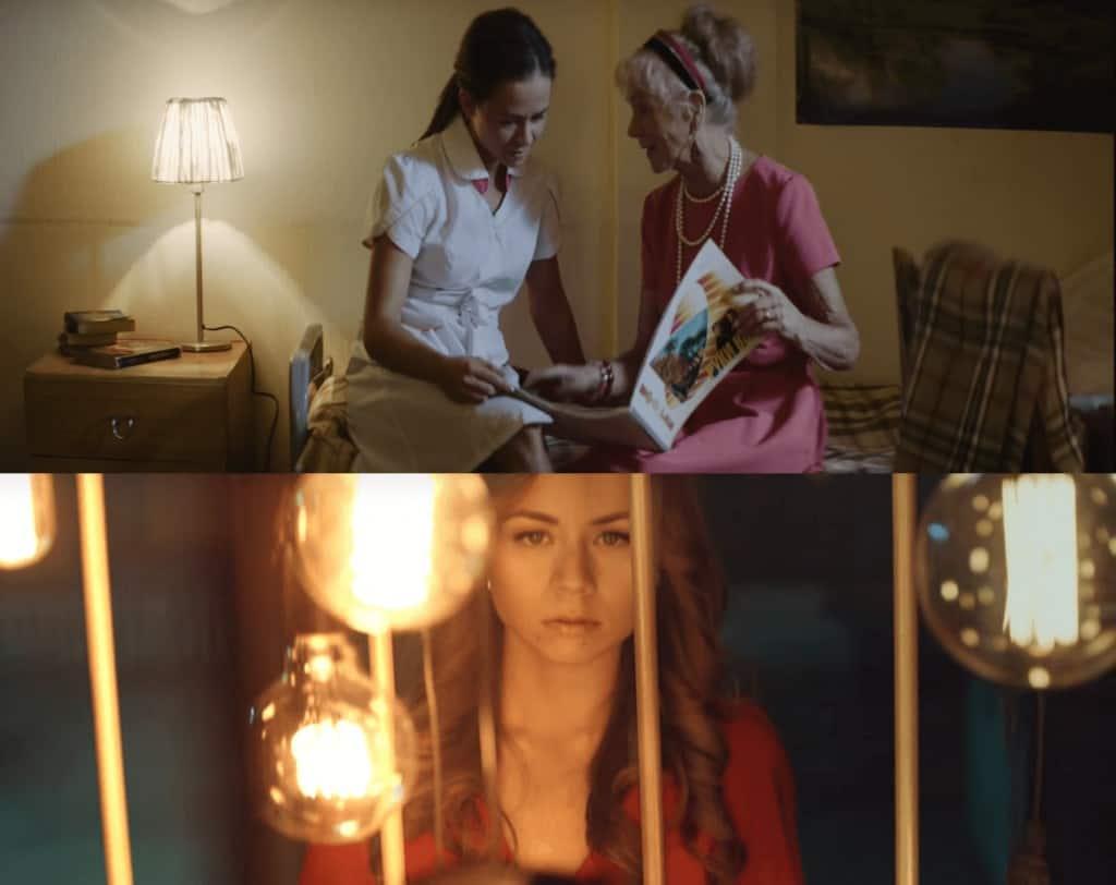 Актриса из клипа Руки Вверх «Когда мы были молодыми»