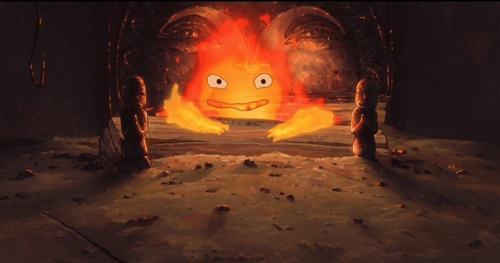 Огненный демон прикован к домашнему очагу