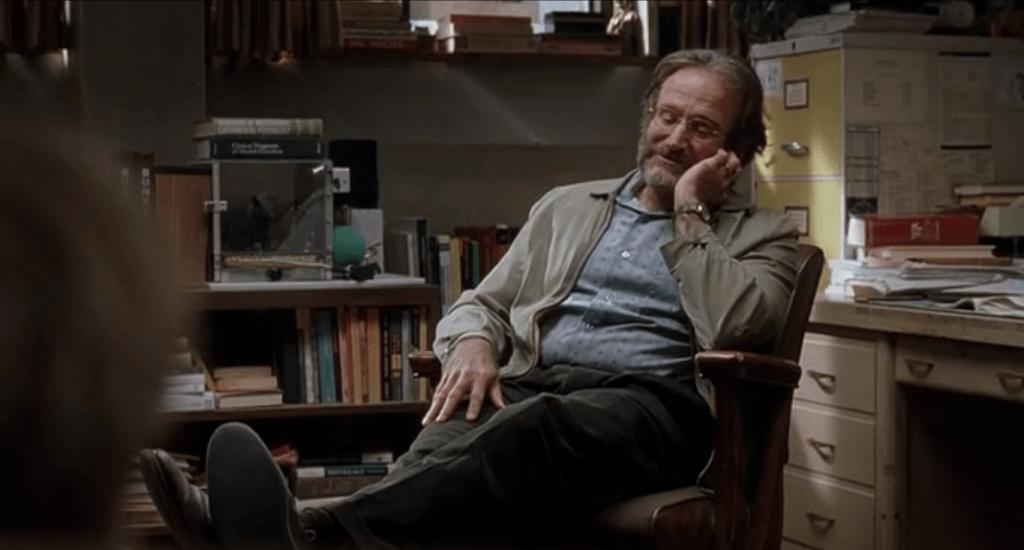 Робину Уильямс сыграл психолога, способного разговорить кого угодно