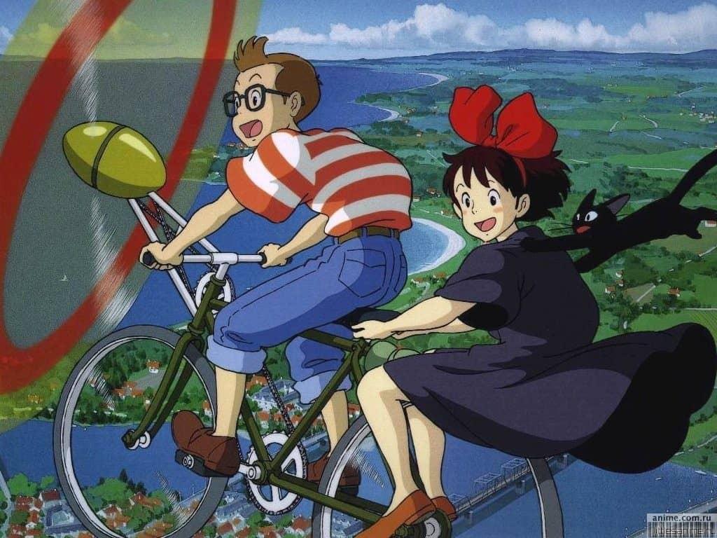 Ведьмина служба доставки (Kiki's Delivery Service) обзор мультфильма