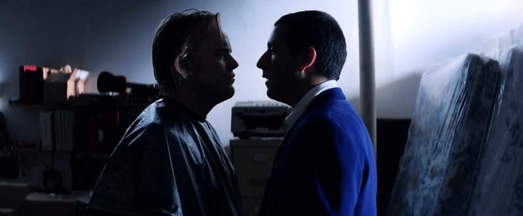 """""""Говори мне, что это все - конец, пока я тебе мозги не вышиб"""", - заявляет Барри"""